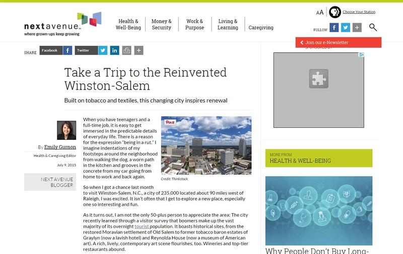 NextAvenue.org - Winston-Salem