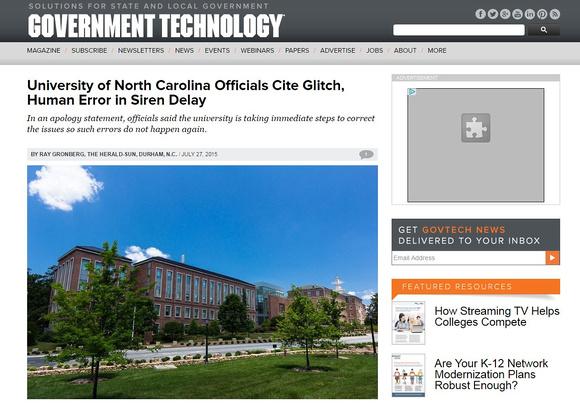 govtech.com - UNC