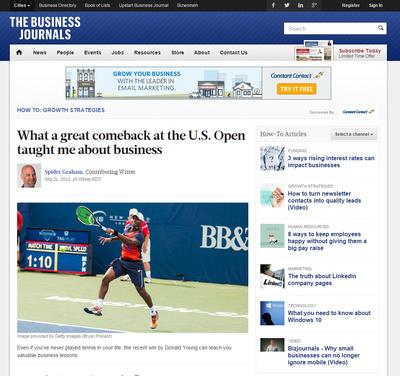 Donald Young - Winston-Salem Open