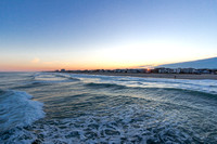 Sunset at Wrightsville Beach