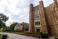 Perkins Library and Rubinstein Library at Duke University