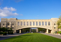 Alumni Mall and Torgersen Hall at Virginia Tech