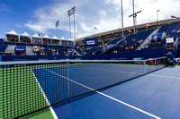 Center Court at the Winston-Salem Open 2013