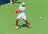 Donald Young at the Winston-Salem Open
