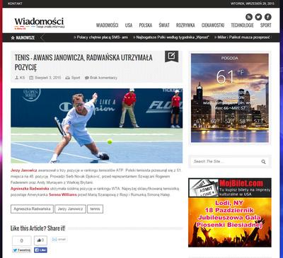 Jerzey Janowicz - wiadomosci.com