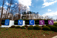 Entrance Sign at the University of North Carolina School of the